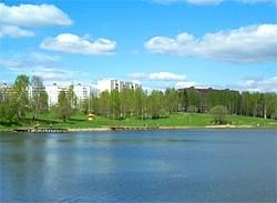 Лесное озеро Сергиев Посад