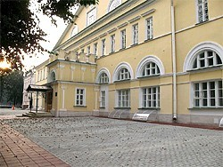 Старая монастырская гостиница в Сергиевом Посаде