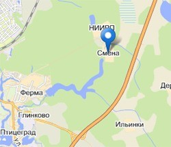 маршрут Сергиев Посад Смена