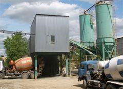 В Сергиевом Посаде загорелся завод ЖБИ