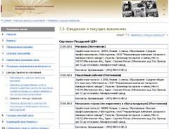 вакансии центра занятости Сергиев Посад