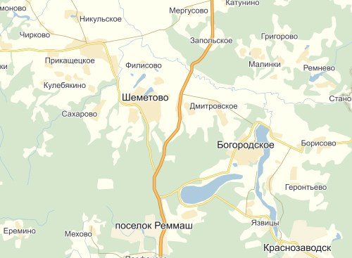 Шеметово, Сергиево-Посадский район