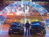В Сергиевом Посаде мажор на автомобиле с «дьявольскими» номерами заехал на главную городскую площадь